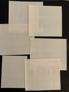 Congo DR scarce imperforate blocks 1964 JFK, MNH.  Scott 514-519 CV $240.00