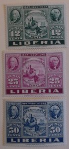 Liberia C54-6 MNH Cat $2.10 Stamp on Stamp  Topical