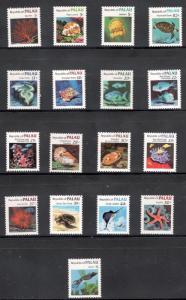 Palau Scott # 9/83 (17) Marine Life Stamps Mint/nh FREE SHIPPING