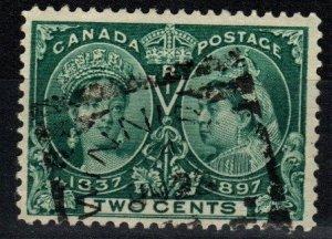 Canada #52  F-VF Used CV $15.00 (X290)