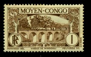 Middle Congo 1933 #65 MH SCV(2018)=$0.25
