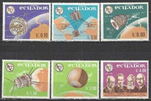 Ecuador    748-E    MNH   ITU Centenary