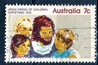 Australia 1972; Sc. # 539; O/Used Single Stamp