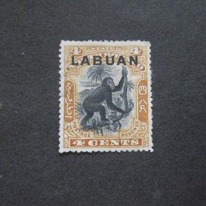 Labuan 1899 Sc 96 MH