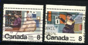 Can #634,638   u   VF 1974 PD
