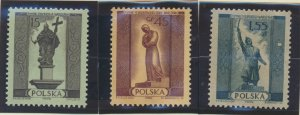 Poland Stamps Scott #668 To 675, Mint Never Hinged - Free U.S. Shipping, Free...
