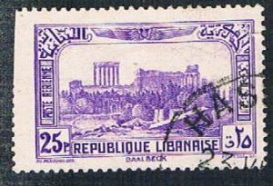 Lebanon C72 Used Ruins of Baalbek (BP261)