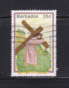 Barbados 818 U Easter (B)