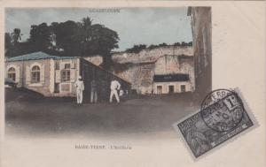 Guadeloupe 1c Harbor at Basse-Terre 1907 Basse Terre, Guadeloupe PPC (Basse-T...