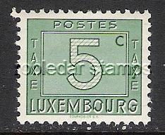 LUXEMBOURG J23 MOG POSTAGE DUE L728