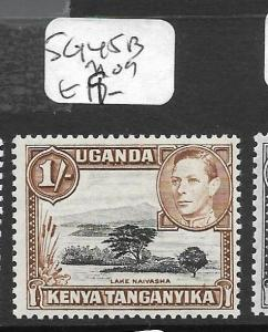 KENYA AND  UGANDA  (P0609B) KGVI 1/-  SG 145B   MOG