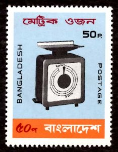 Bangladesh 50p Introduction of Metric System 1983 Scott.212 MNH