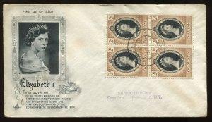 Swaziland QEII 1953 Coronation cacheted cover to Buffalo NY