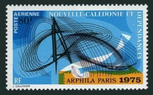 New Caledonia C120,MNH.Michel 557. ARPHILA-1975.Abstract Design.1974.