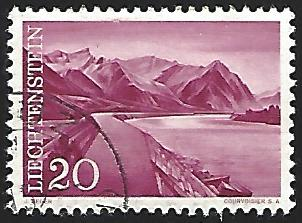 Liechtenstein #337 Used Single Stamp