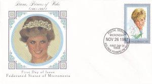 1997, Micronesia: Diana, Princess of Wales, FDC (E11393)