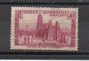 Ivory Coast 127 used (B)
