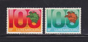 Luxembourg 551-552 Set MNH UPU (D)