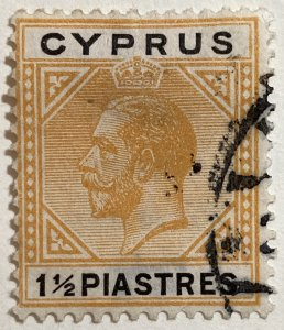 AlexStamps CYPRUS #78 VF Used