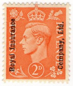 (I.B) George VI Commercial Overprint : Royal Insurance