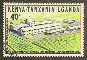 Kenya-Uganda-Tan.  Scott  276    Independence     Used