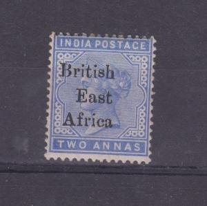 British East Africa O/P KUT QV 1895 2 Annas SG52 MLH Gum J2996