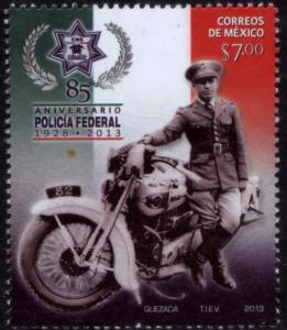 MEXICO 2857 85th Anniversary of the Federal Police MNH