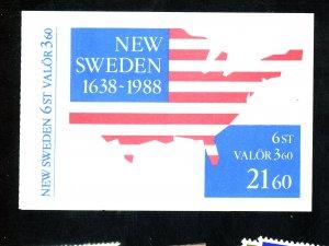 Sweden #1677a MINT Booklet Cat$14