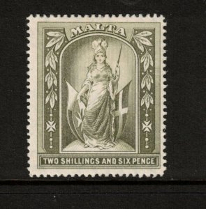 Malta #64 Very Fine Mint Original Gum Hinged