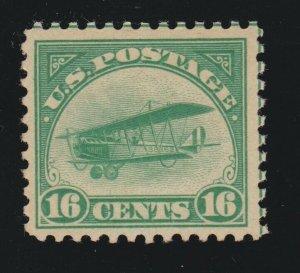 US C2 16c Airmail Mint VF OG NH SCV $120