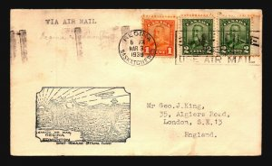 Canada FFC 1930 Regina to Edmonton - L2078