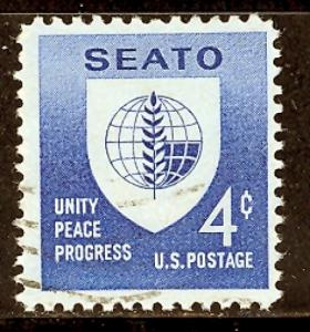 U. S. 1151 used SCV $ 0.25 (RS)