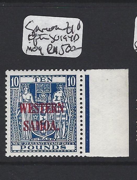 SAMOA   (P0906B)  ON NEW ZEALAND L10 AFTER SG 149D VERY SCARCE  MOG  CHEAP START