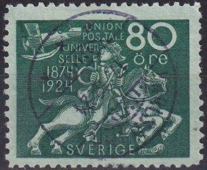 Sweden #224  F-VF Used CV $37.50  (Z5083)