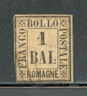 ROMAGNA, Scott #2, Sassone #2, Used, Cat. $390.00