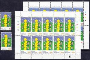 Armenia stamp Europa CEPT: Europa set+mini-sheet pair MNH 2000 WS115170