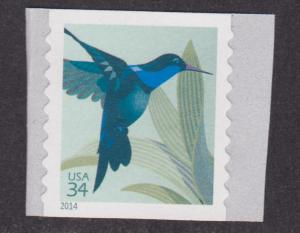 4858a Hummingbird MNH coil single (overall tagging)