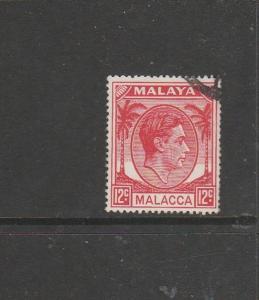 Malaya Malacca 1949/52 12c FU SG 9a