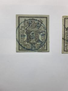 Hannover 1851 & 1855 - 1857 Coat of Arms