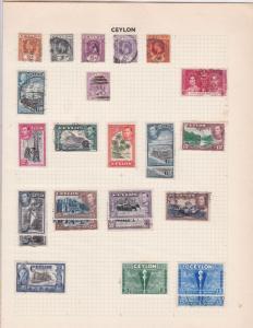 ceylon  stamps ref r8690