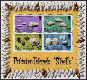 HERRICKSTAMP PITCAIRN ISLANDS Sc.# 140A Shell S/S