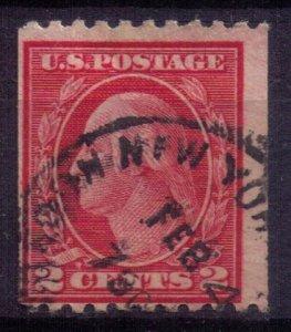 US 488 USED 2c Carmine Fine