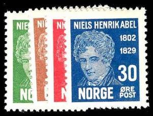 NORWAY 145-48  Mint (ID # 78038)
