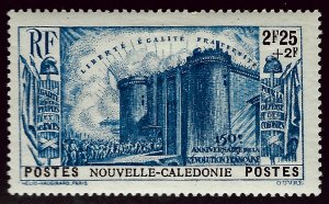 New Caledonia B9 Mint OG VF hr SCV$13...French Colonies are Hot!