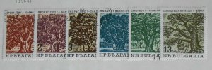 Bulgaria 1380 - 1385 - Old Trees. Set Of 6. Cancelled. Full Gum.  #02 BULG1380s6