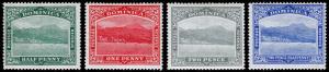 Dominica Scott 50-53 (1908-09) Mint H F-VF Complete Set, CV $26.00 M