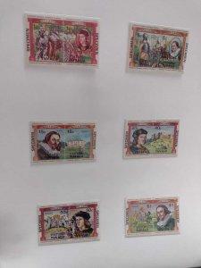 O) 1984 TUVALU, VAITUPU, SPECIMEN, BRITISH MONARCHS, RICHARD III, CHARLES I, ...