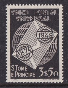 St. Thomas & Prince Islands   #352   MNH  1949  UPU