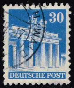Germany #649 Brandenburg Gate; Used (0.45)