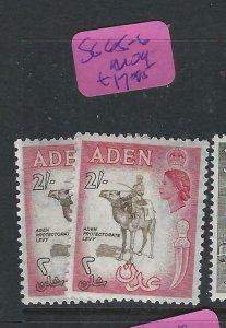 ADEN  (PP0807B)  QEII  2/-  SG  65-6  MOG